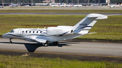 A picture of PPDZE - Cessna 750 Citation X - [7500159] - © Felipe Oliveira - oliver_spotting