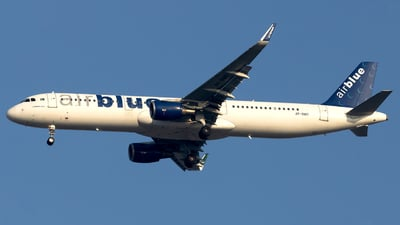 A picture of APBMO - Airbus A321211 - AirBlue - © Salman Tareen.