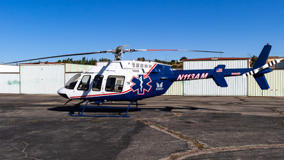 N113AM - Bell 407 - Air Mercy Services (AMS)