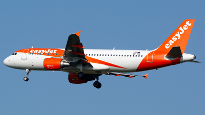 A picture of OEICK - Airbus A320214 - easyJet - © Chris Pitchacaren