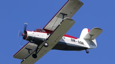 OM-SON - Antonov An-2 - Private