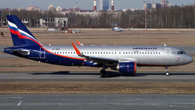 A picture of VPBAD - Airbus A320214 - Aeroflot - © Malyshev Andrei