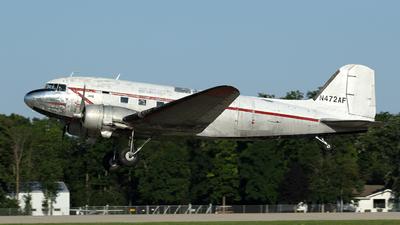 N472AF - Douglas DC-3C - Private