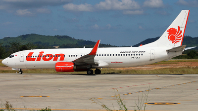 PK-LKT - Boeing 737-8GP - Lion Air