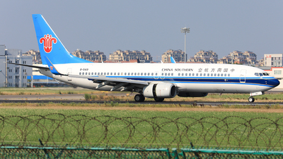 A picture of B5419 - Boeing 73781B - China Southern Airlines - © Nishinomiya