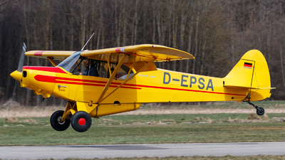 D-EPSA - Piper PA-18-150 Super Cub - Private
