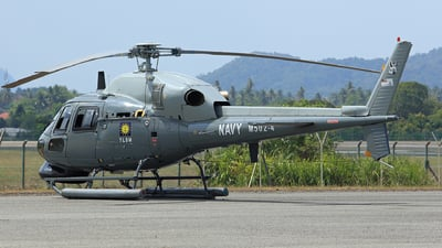 M502-4 - Eurocopter AS 555SN Fennec - Malaysia - Navy