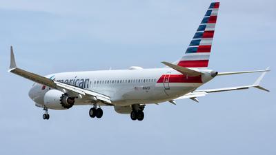 N341SV - Boeing 737-8 MAX - American Airlines