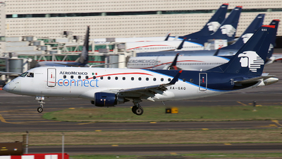 XA-GAQ - Embraer 170-100STD - Aeroméxico Connect