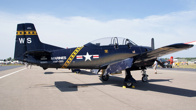 N528TC - North American T-28C Trojan - Private