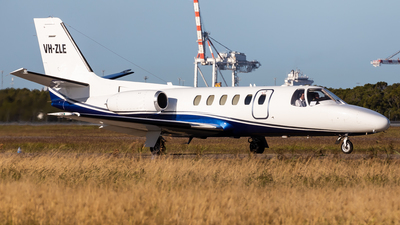 A picture of VHZLE - Cessna 550 Citation II - [5500347] - © Brandon Giacomin