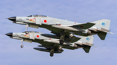 37-8318 - McDonnell Douglas F-4EJ Phantom II - Japan - Air Self Defence Force (JASDF)