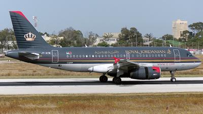JY-AYM - Airbus A319-132 - Royal Jordanian