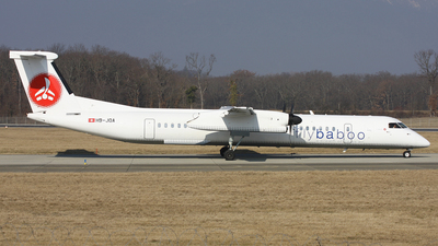 HB-JQA - Bombardier Dash 8-Q402 - Flybaboo