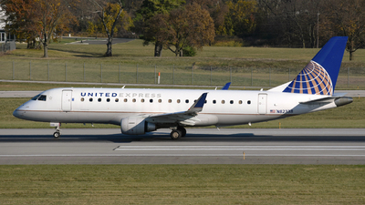 A picture of N82338 - Embraer E175LR - United Airlines - © DJ Reed - OPShots Photo Team