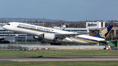 A picture of 9VSMW - Airbus A350941 - Singapore Airlines - © Leo Sheng