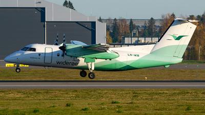 A picture of LNWIB - De Havilland Canada Dash 8100 - Wideroe - © Laszlo Fekete