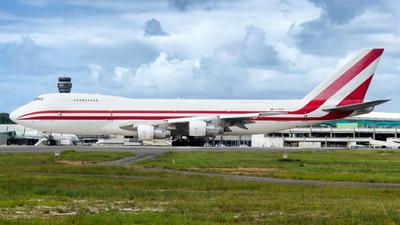 EX-47001 - Boeing 747-222B(SF) - Aerostan