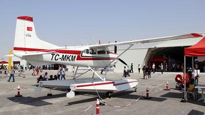 TC-MKM - Cessna 185 Skywagon - Private