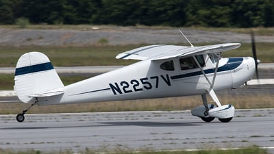 N2257V - Cessna 140 - Private