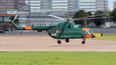 101 - Mil Mi-17-1V Hip - Latvia - Air Force