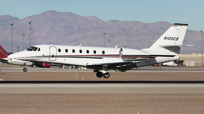 N120CB - Cessna 680 Citation Sovereign - Private