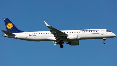 D-AEMA - Embraer 190-200LR - Lufthansa Regional (CityLine)