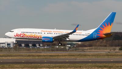 A picture of GJZBD - Boeing 7378MG - Jet2 - © Rolf Jonsen