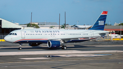 N125UW - Airbus A320-214 - US Airways