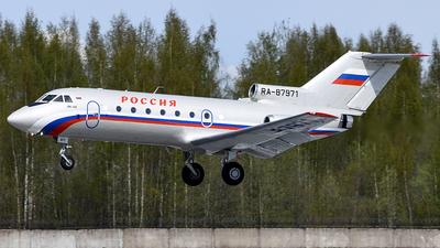 RA-87971 - Yakovlev Yak-40 - Rossiya - Special Flight Squadron
