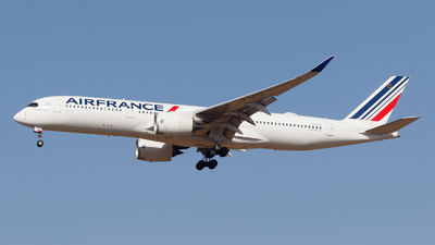 A picture of FHTYA - Airbus A350941 - Air France - © Eyal Zarrad