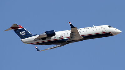 N875AS - Bombardier CRJ-200LR - US Airways Express (SkyWest Airlines)