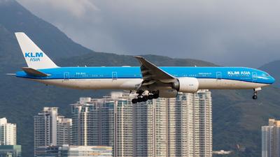 A picture of PHBVC - Boeing 777306(ER) - KLM - © Thomas Tse