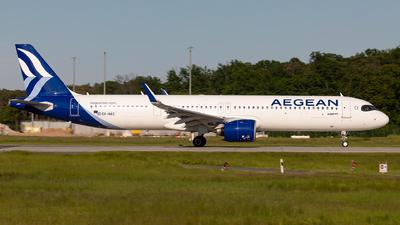 A picture of SXNAC - Airbus A321271NX - Aegean Airlines - © Sebastian Sowa