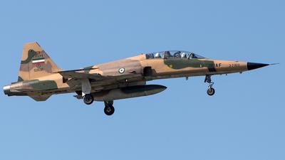 3-7169 - Northrop F-5F Tiger II - Iran - Air Force