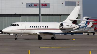 A picture of CSDLJ - Dassault Falcon 2000EX - NetJets - © Thomas Ernst