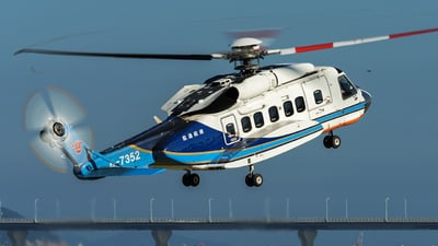 B-7352 - Sikorsky S-92A Helibus - China Southern Airlines General Aviation