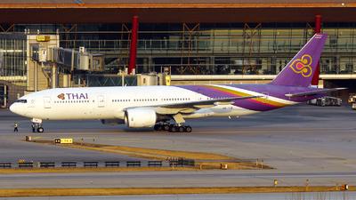 HS-TJB - Boeing 777-2D7 - Thai Airways International