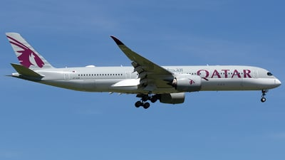 A picture of A7ALW - Airbus A350941 - Qatar Airways - © Maximilian Haertl