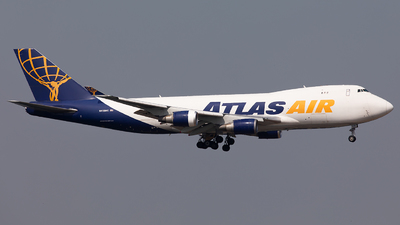 A picture of N418MC - Boeing 74747UF - Atlas Air - © Nestor Hung