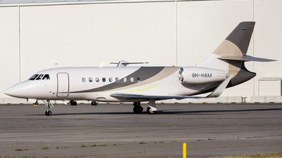 9H-HAM - Dassault Falcon 2000LX - Avcon Jet Malta