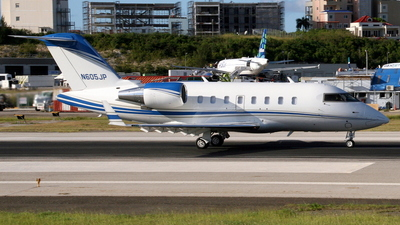 N605JP - Bombardier CL-600-2B16 Challenger 605 - Private