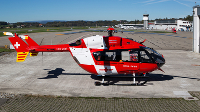 HB-ZRF - Eurocopter EC 145 - REGA - Swiss Air Ambulance