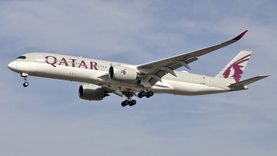A picture of A7ALM - Airbus A350941 - Qatar Airways - © Paul Spijkers