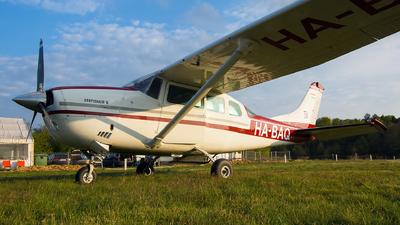 HA-BAQ - Cessna U206F Stationair - Private