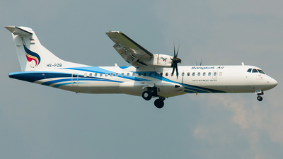 HS-PZB - ATR 72-212A(600) - Bangkok Airways