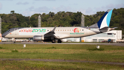 A picture of CP3142 - Embraer E190LR - Amaszonas - © Henrique Pessoa