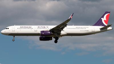 B-MCE - Airbus A321-231 - Air Macau