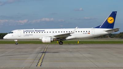 A picture of DAECG - Embraer E190LR - Lufthansa - © Tim-Patrick Müller