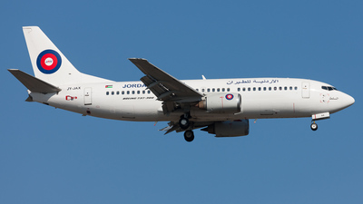 JY-JAX - Boeing 737-322 - Jordan Aviation